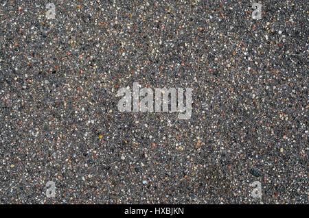 Asphalt Textur. Grauen Hintergrund der Straße Deckung - Stockfoto