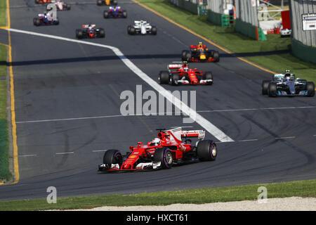 Melbourne, Australien. 26. März 2017. Motorsport: FIA Formel 1 Weltmeisterschaft 2017, Grand Prix von Australien, - Stockfoto