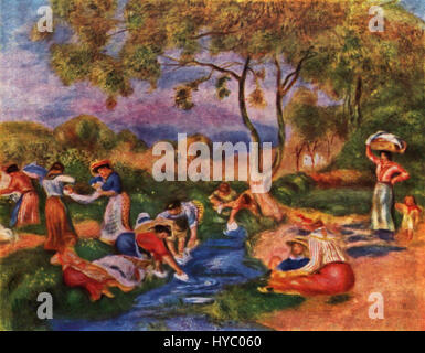 Pierre Auguste Renoir 152 - Stockfoto
