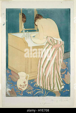Mary Cassatt Bad - Stockfoto