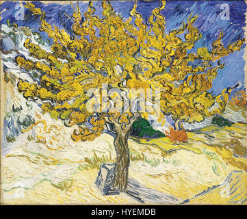 Vincent Van Gogh Moerbeiboom - Stockfoto