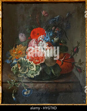 Lille Pdba Rachel Ruysch Fleurs Tablette - Stockfoto