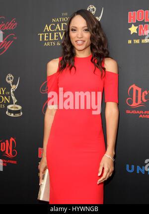 Hollywood, CA, USA. 26. April 2017.  Sal Stowers. Daytime Emmy Awards nominiert Rezeption statt auf der Hollywood - Stockfoto