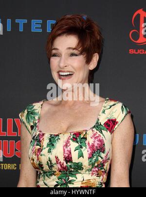 Hollywood, CA, USA. 26. April 2017.  Carolyn Hennesy. Daytime Emmy Awards nominiert Rezeption statt auf der Hollywood - Stockfoto