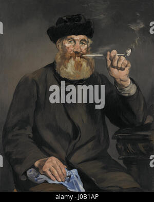 Édouard Manet - Raucher - 68.79 - Minneapolis Institute of Arts - Stockfoto