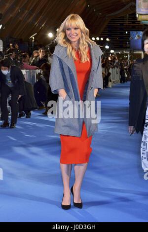 """Tokio, Japan. 10. April 2017. Schauspielerin Anna Faris besucht die Galaxy-Carpet-Event """"Hüter der Galaxie Vol. - Stockfoto"""