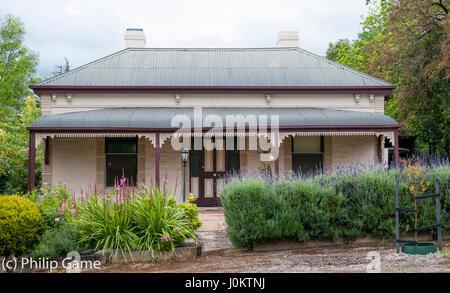 Viktorianischen Haus in Angaston, Barossa Valley, South Australia - Stockfoto
