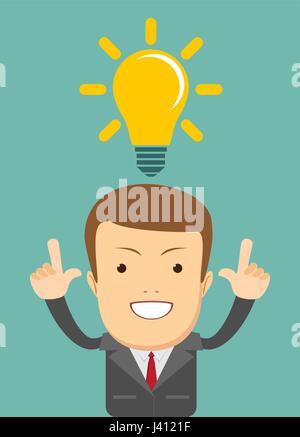 denken-Business-Konzept. - Stockfoto