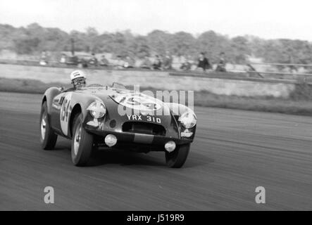 MGA Twin Cam, Olthoff 1961 Silverstone Clubmans - Stockfoto