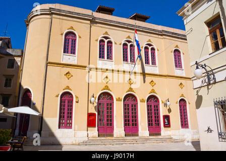 Kazaliste, Theater, Altstadt, Sibenik, Dalmatien, Kroatien - Stockfoto