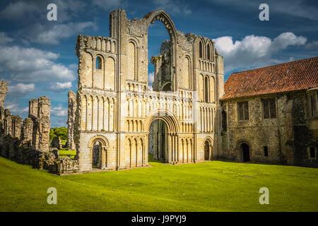 Historisches Schloss Acre in Norfolk - Stockfoto