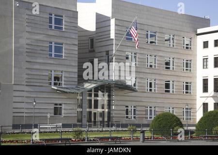 Deutschland, Berlin, amerikanische Botschaft, - Stockfoto