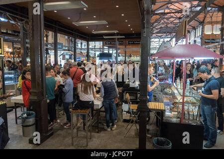 Mercado San Miguel, Madrid - Stockfoto