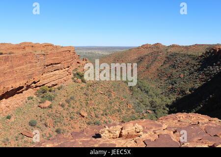 Kings Canyon im Northern Territory von Australien - Stockfoto