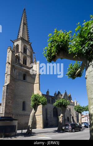 Ihr detail sind wie folgt. Mirepoix Kathedrale Saint-Maurice in Mirepoix, Ariege ...
