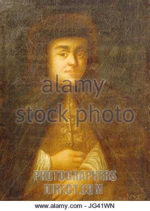 Natalja Naryshkina von Schurmann Karl 28after 1710 Twer Gallery29 - Stockfoto