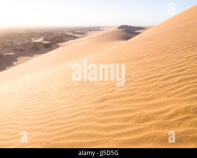 Dünen am Sandwich Harbour, Namibia, Afrika - Stockfoto