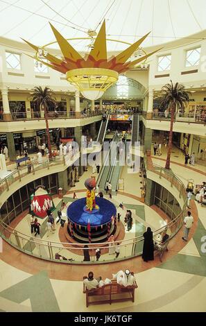 Vereinigte Arabische Emirate, Dubai, Deira City Centre Shopping Mall, Eingangsbereich VAE, Vereinigte Arabische - Stockfoto