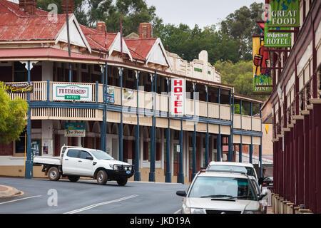 Australien, Western Australia, The Southwest, Bridgetown, Blick auf die Stadt - Stockfoto