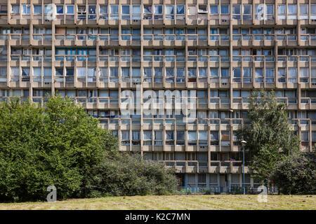Robin Hood Gardens, London, Vereinigtes Königreich - Stockfoto