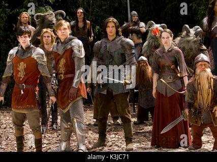 Die Chroniken von Narnia: Prinz Kaspian von Narnia [BR/US 2008] Es ist 1.300 Jahre später, und Prinz Kaspian (Ben - Stockfoto
