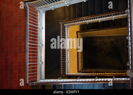 Ellis Island Treppe - Stockfoto