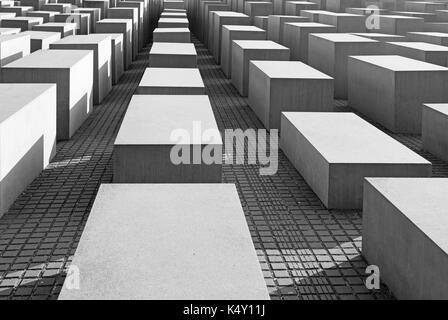 BERLIN, DEUTSCHLAND, Februar, 13, 2017: Das Gedächtnis des Holocaust. - Stockfoto