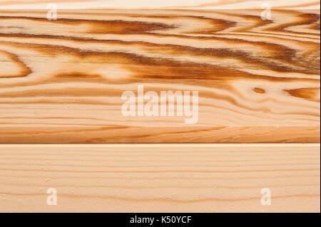 Detail und texturierte Regen kostenlose Holzbrett, Hintergrund. Licht verarbeitetes Holz Textur. Andere Ansicht - Stockfoto