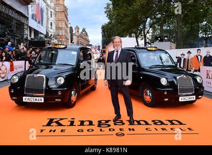 Jeff Bridges die Teilnahme an der Uraufführung von kingsman: Der goldene Kreis, bei Cineworld in Leicester Square, - Stockfoto