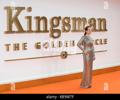 """""""Kingsman: Der Golden Circle"""" Weltpremiere - Stockfoto"""