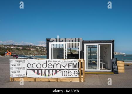 Sound Art Folkestone Triennale Akademie FM Radio Kent UK - Stockfoto