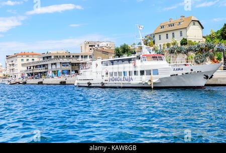 Hafen von Split, Kroatien. - Stockfoto