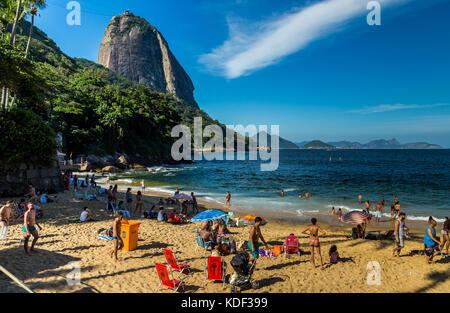 Vermelha Strand, Rio De Janeiro, Brasilien - Stockfoto