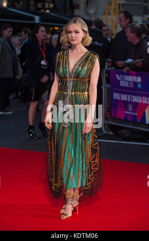 """Bin udbound """"europäische Premiere - 61. BFI London Film Festival - Stockfoto"""