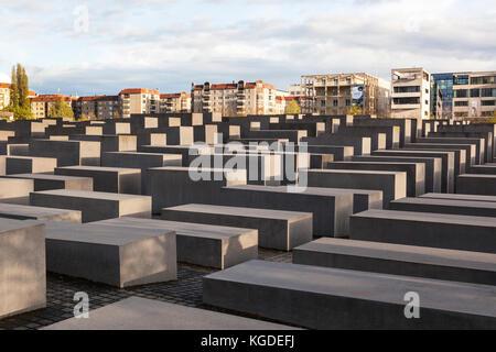 Denkmal für die ermordeten Juden Europas. Berlin, Deutschland - Stockfoto
