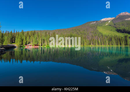 Emerald Lake, Yoho National Park, Kanada - Stockfoto