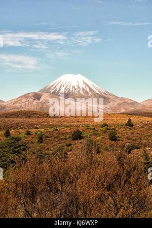 Mount ngauruhoe - Stockfoto
