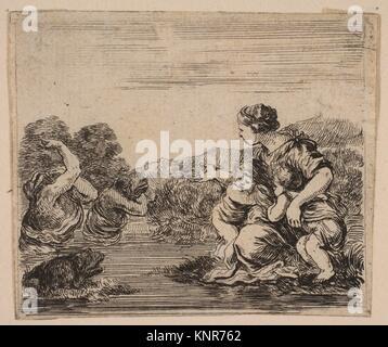 "Latona, von ""Spiel der Mythologie' (Jeu de la Mythologie). Serie/Portfolio: ""Spiel der Mythologie' (Jeu de la Mythologie); - Stockfoto"