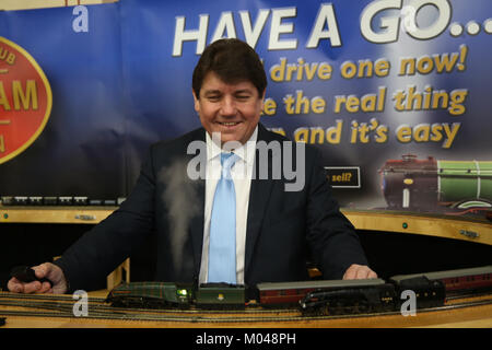 London, Großbritannien. 19 Jan, 2018. Stephen Metcalfe MP für den Süden und Osten Basildon Thurrock und neu wie - Stockfoto