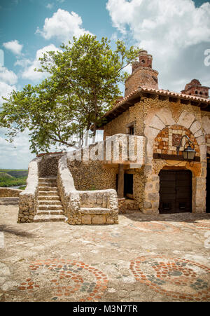 Altos de Chavon Dorf, La Romana in der Dominikanischen Republik - Stockfoto