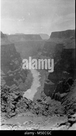 Grand Canyon Big Canyon (Cove Canyon) Colorado River, inneren Schlucht, dem Grand Canyon National Monument. Aus - Stockfoto