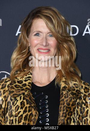 "Hollywood, CA, USA. 26 Feb, 2018. 26. Februar 2018 - Hollywood, Kalifornien - Laura Dern. Disney's ""A Wrinkle In - Stockfoto"