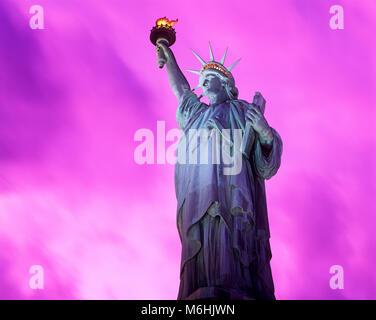Statue of Liberty, Liberty Island, New York, USA - Stockfoto