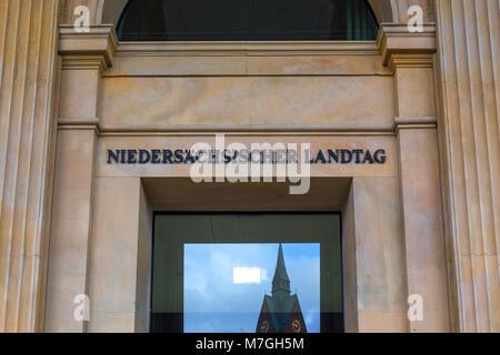 Niedersachsen Parlamentsgebäude Hannover Deutschland - Stockfoto