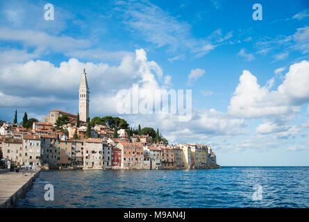 Rovinj in Kroatien - Stockfoto