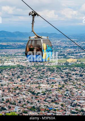 San Bernardo Hill Seilbahn, Salta, Argentinien - Stockfoto