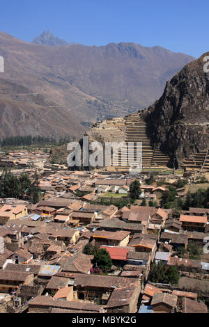 Alte Inkaruinen in Huancayo, Peru - Stockfoto