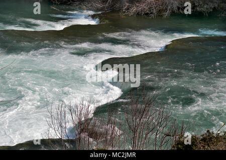 National Park Krka Wasserfälle - Stockfoto