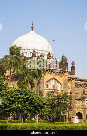 Chhatrapati Shivaji Maharaj Vastu Sangrahalaya, Kunst und Geschichte Museum, Fort, Mumbai, Maharashtra, Indien, Asien - Stockfoto