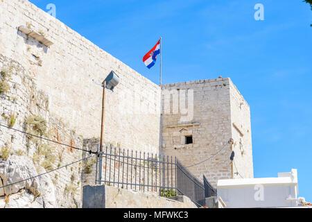 Schloss von SIbenik, Kroatien - Stockfoto